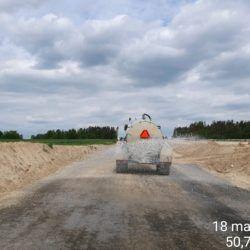 Utrzymanie drogi technologicznej km ok. 11+500
