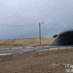 Bariery energochłonne na drodze powiatowej DP2744L