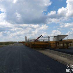 Roboty przygotowywacze pod deskowanie ustroju nośnego wiaduktu drogowego WD-17 w km 15+637