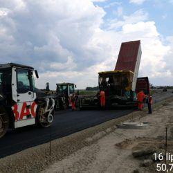 Podbudowa zasadnicza w km 13+540