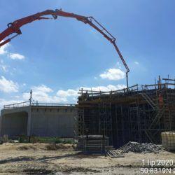 WS-6 betonowanie ustroju ramowego