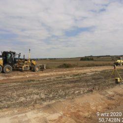 Wykonanie drogi dojazdowej DDL15a