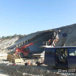 Wykonanie oczepu betonowego na obiekcie PZDd-2 1+772