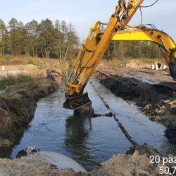 Przebudowa rzeki Sanna