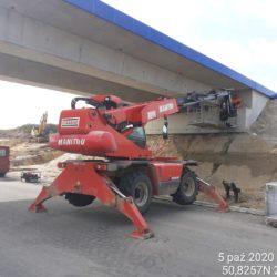 Wykończenie powierzchni betonowych na obiekcie WD-7