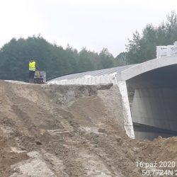 Wykonanie zasypki WS-12 km 11+201