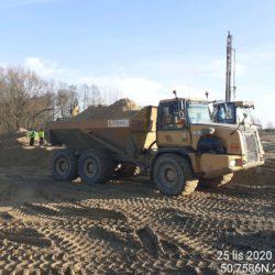 Transport materiału 12+550