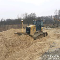 Profilowanie terenu 12+780