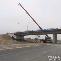 Transport materiału na obiekt WD-20 18+017