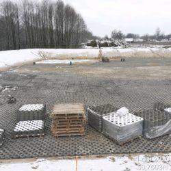 Wykonanie umocnienia zbiornika ZR-14 12+500