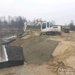 Wykonanie zasypki fundamentu obiektu MS-13 12+633