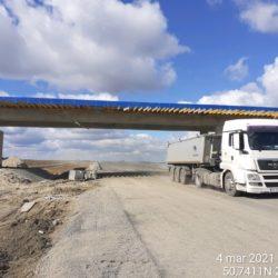 Transport materiału 15+650
