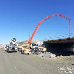 Wykonanie betonowania obiektu MS-13 12+633