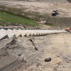 Wykonanie schodów betonowych na obiekcie WS-6 4+494