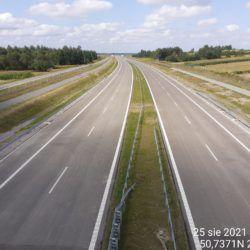 Ciąg główny w kierunku na Lublin z obiektu WD-18 17+209