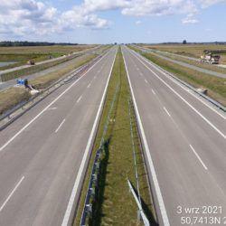 Widok na ciąg główny w kierunku Lublina z obiektu WD-17 15+637