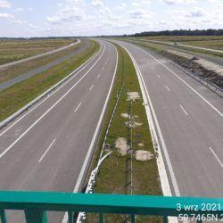 Widok na ciąg główny w kierunku Rzeszowa z obiektu WD-16 14+172