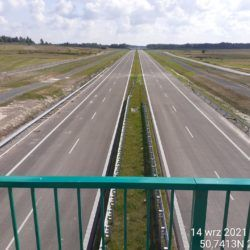 Widok na ciąg główny w kierunku Rzeszowa z obiektu WD-17 15+637